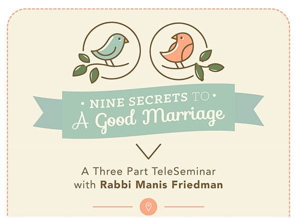 9 Secrets to a Good Marriage